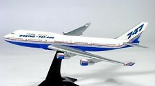 Herpa 500821 Boeing Demo House Colors 747-400 1:500 Scale Mint in Box with Stand