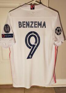 Benzema jersey Madrid 20-21 Size Large NWT