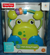Fisher Price Growing Baby Pull-Along Froggie, Developmental Infant Learning Toy