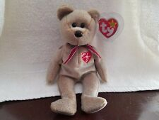 Ty Beanie Baby Babies Retired 1999 Signature Bear Stuffed Plush Toy
