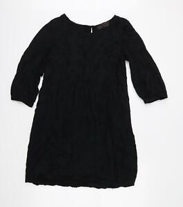 Fat Face Womens Black   Fit & Flare  Size 14