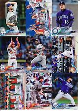 2018 Topps Series 1 RAINBOW FOIL PARALLEL Pick from List  Quantity Discount