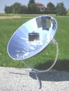 Solarkocher Premium14 Solargrill - Made in Germany! Solar Garten Grill Kochen