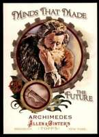 2011 TOPPS ALLEN & GINTER MINDS THAT MADE THE FUTURE ARCHIMEDES #MMF34