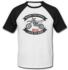 HONDA CRF 150-Nuova T-shirt Cotone-Tutte le taglie in magazzino