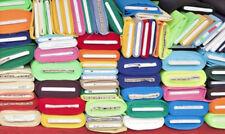 Stoffpaket Jersey Baumwolljersey Restepaket Uni einfarbig Reststücke 5 Meter