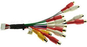 CLARION VRX775VD VRX-775VD  GENUINE A/V RCA HARNESS *SPECIAL ORDER*