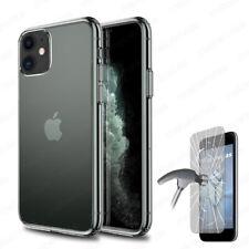 Funda + PROTECTOR CRISTAL TEMPLADO Opcional iPhone 11 (6.1) 100% Transparente