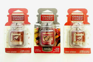 Yankee Candle Car Jar Ultimate Air Freshener - Choose Scent