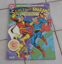 SAGEDITION  Superman contre SHAZAM !   format géant ! sep9a