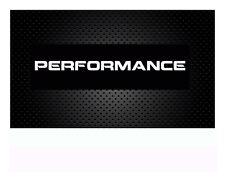 Performance Autoaufkleber Sticker Aufkleber 50x5cm Windschutzscheibe