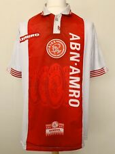 Ajax 1997-1998 home football shirt jersey maillot camiseta trikot maglia