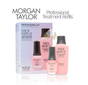 Morgan Taylor - Stick With It - Base Coat Professional Kit - 0.5oz/ 4oz