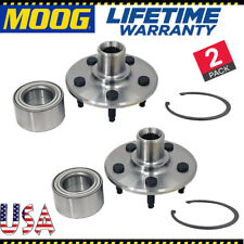 MOOG Rear Left and Right Wheel Hub Bearings fits Ford Lincoln Mercury Pair of 2