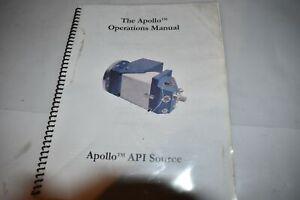 APOLLO API SOURCE OPERATIONS MANUAL (M416)