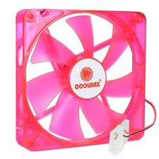 "LOT of 13-pcs Coolmax 140mm (5.25""x5.25"") RED LED Case Fan 4-Pin & Screws"
