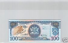 TRINITE ET TOBAGO $100 DOLLARS 2006 N° LA724000 PICK 51