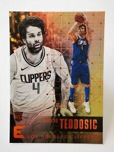 Panini Essentials 2017-18 N34 Los Angeles Clippers Rookie RC #193 Milos Teodosic