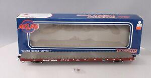 Atlas 2001766-2 O Scale BNSF 68` Flat Car #592509 [2Rail] LN/Box