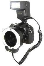 Tumax Digital TTL Macro Kit DOPPIO USO! Flash Standard + Anulare per Nikon