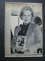 AP Wire Press Photo 1985 Carol Nashe husband killed by hit-run accident driver