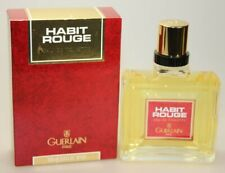 Guerlain HABIT ROUGE 100 ml Eau de Toilette EdT Splash no. 501 Vintage