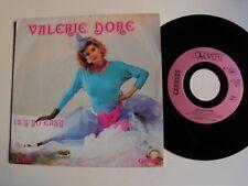 """VALERIE DORE : It's so easy (2 versions).7"""" 45T 1985 italo-disco CLEVER 13851"""