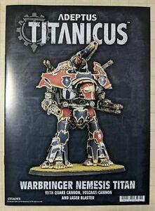 Adeptus Titanicus Warbringer Nemesis Battle Titan Warhammer 40K