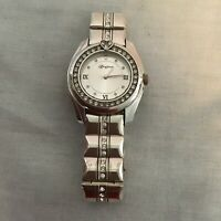 Brighton DANA POINT Silver Watch with Crystals around the face and on the band