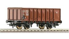Roco 46043 Open Goods Wagons 824 728 Ommp 50 DB Ep 3 optional wheelsets