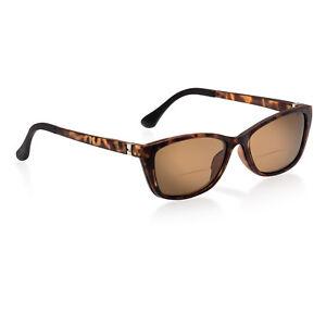 Damen Sonnenlesebrille Bifokal Zweistärken mit Sonnenclip