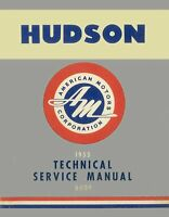 OEM Shop Manual Hudson Hornet/Wasp/Rambler Covers 1955-1957 1955