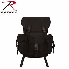 Military Canvas Outfitter Rucksack Backpack