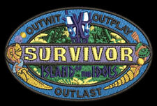 SURVIVOR Logo Embroidered Patch ISLAND OF THE IDOLS NEW CBS TV Show Season 39