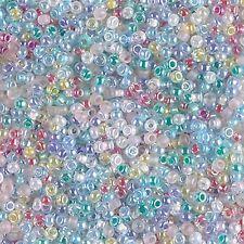 11/0 Spring Flowers Mix Glass Round Seed Beads ny Miyuki 10Grams