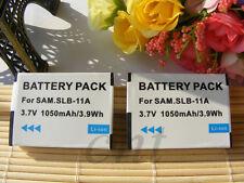2x SLB-11A Battery for Samsung TL320 TL500 WB1000 WB5000