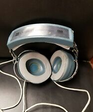 CLASSIC VINTAGE KNIGHT STEREO HEADPHONES KN 845 HEADSET Turquoise