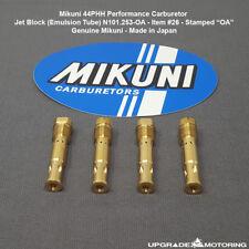 Mikuni 44PHH Carburetor Jet Block (Emulsion Tube) Size OA N101.253-OA 4pcs Solex