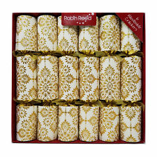 """Robin Reed English Holiday Christmas Crackers Pack of 6 x 12"""" All That Glitters"""