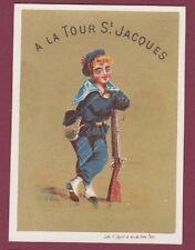 Chromo 010815 - À la tour St Jacques - Marin - F. Appel 12 rue du Delta à PARIS