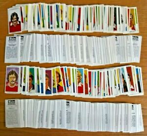 The Sun Soccercards 530 different more than half the set football trade cards