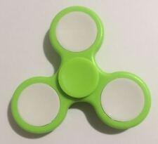 Tri Fidget Spinner Plastic Handheld Toy (green + white)