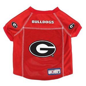 GEORGIA BULLDOGS Center Logo dog football jersey (all sizes)