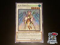 Yugioh Ib The World Chalice Justiciar DANE-EN035 Secret Rare NM
