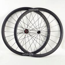 38mm Sapim Carbon Road Bike Wheels Clincher Tubeless UD Matt 700C R13 Rim brake