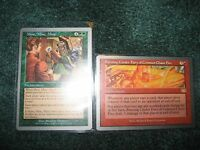 Magic the Gathering Unglued Lot 2 rares & lots of uncommons and commons! 25+card