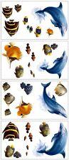 RoomMates Wandtattoos Delfine Fische Meeresbewohner Aquarium Tattoos 24Sticker