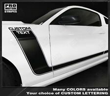 Ford Mustang Boss 302 Style Side Stripes 2013 2014 2010 2011 2012 Pro Motor