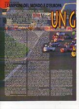W11 Ritaglio Clipping 1996 Velocità Sidecar Walter Galbiati Biland Waltisperg
