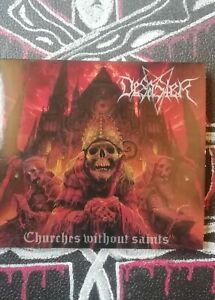 DESASTER Churches without saints digi CD digipack BRANDNEW! 9th album out now!!!